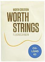 Worth Strings CH-LGHD ウクレレ弦 クリアヘビー Low-GHD 63インチ フロロカーボン