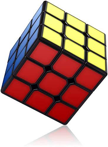 RENFEIYUAN Ma, sin Etiqueta con Nueva Estructura antipop Rubik Cubo (Color : 3X3 stickerless)