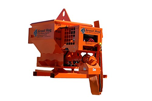 Best Prices! Gas-Powered Grout Hog with Crane Bail- Grout, Concrete, and Mortar Delivery System