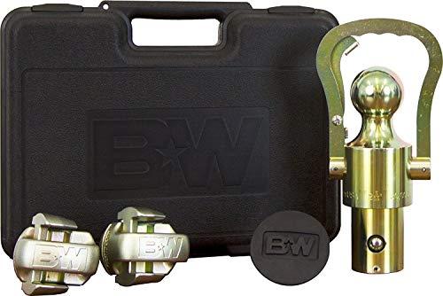TruckProUSA B&W OEM Puck System Gooseneck Ball & Safety Chain Kit for Ram Pickups