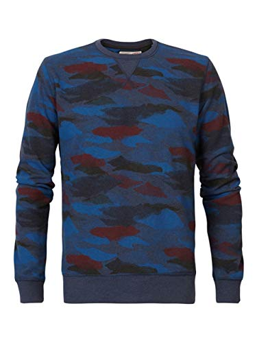 Petrol Industries Sweater Camouflage-Muster