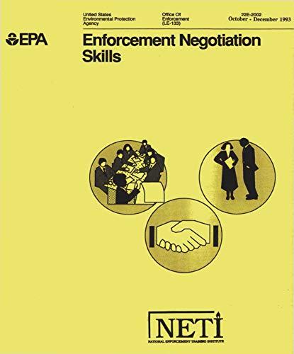 Enforcement Negotiation Skills (English Edition)