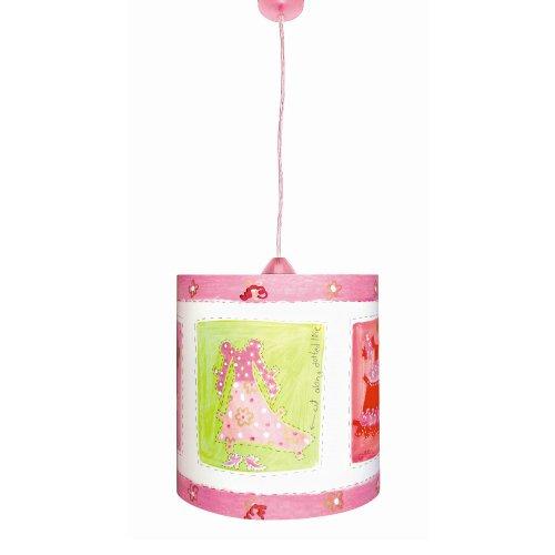 Waldi Kinderlampe Fancy rosa