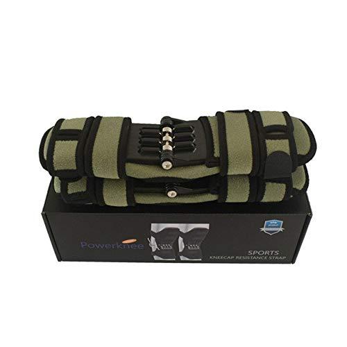 Atmungsaktive, rutschfeste Knieschützerstütze Stützgelenk Knieschützer Power Lift Pads Rückprallfeder Kraft Knieverstärker Beinschutz - G2,2