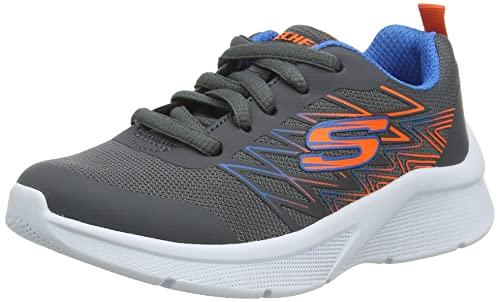 Skechers MICROSPEC Quick Sprint, Zapatillas Niños, Gray, 35 EU