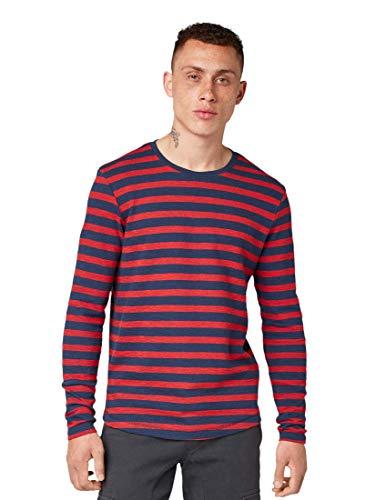 TOM TAILOR Denim Gestreiftes Camiseta para Hombre