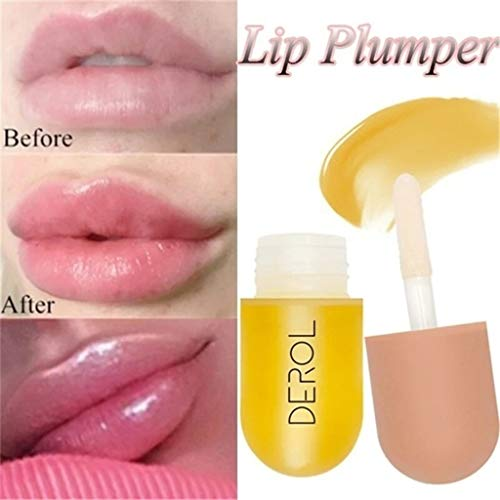 Lip Plumping Balm Lip Enhancer,Plant Extracts Plumping Lip Serum Plant Extracts Plumping Lip Serum,Fuller & Hydrated Lips (5.5ml, Multicolor)