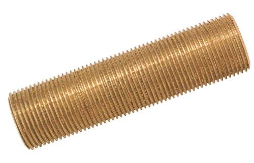 Boutté 3124173 Tube fileté laiton Longueur 10 cm mâle 12x17
