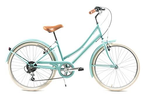 CAPRI Carolina Bicicleta, Niños, Aquamarina, Mediano