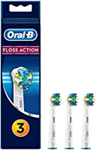 Oral B Floss Action Replacement Brush Heads Refill, 3Count, White