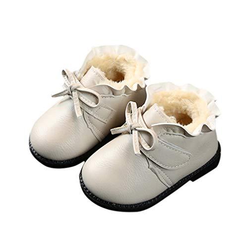 LHWY Botas Invierno Forro Polar Calentar Niñas Bebé