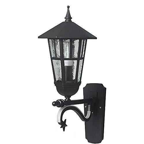 Lámpara de pared para exteriores Lámpara de pared para exteriores Estilo europeo Lámpara de pared para exteriores Led impermeable simple Lámpara de pared para pasillo Iluminación de