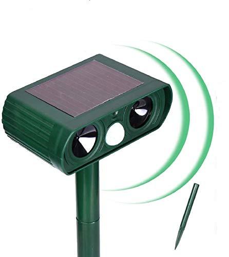 N3 ZELEK Cat Repellent Solar Battery Ultrasonic Pest Repeller Cat Scarer Fox Deterrent NEWEST UPGRADED 2020 Cat Deterrent Garden Dog Bed Garden Fox Repellent Cat Bed Bird Scarer