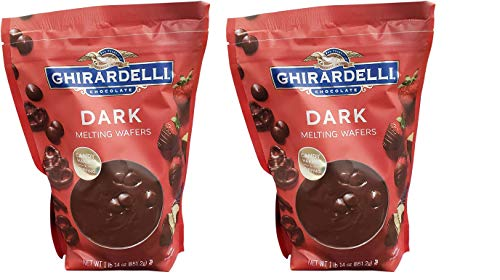 Ghirardelli Chocolate Dark Candy Melting Wafers
