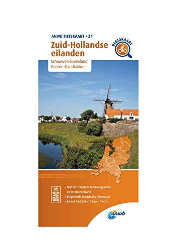 Fietskaart Zuid-Hollandse eilanden 1:66.666: Schouwen-Duiveland,Goeree-Overflakkee