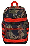 FORTNITE Structure Skate Backpack, Camouflage, One Size