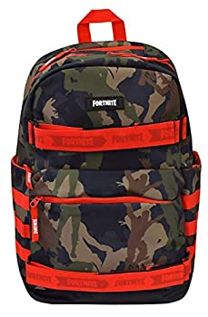 FORTNITE Structure Skate Backpack Camouflage One Size
