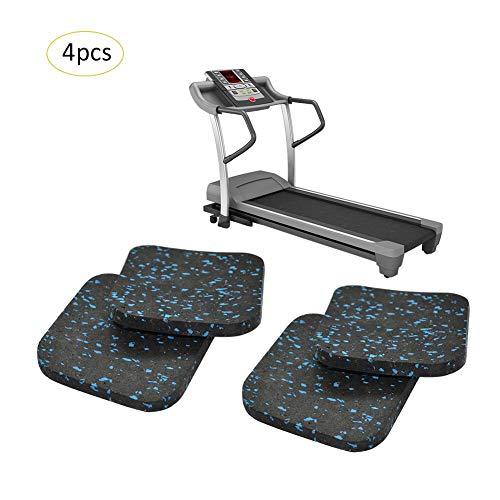 XISTORE Tapis roulant tappetino di riduzione del rumore isolamento acustico cuscino Addensato Home fitness attrezzature 4PC