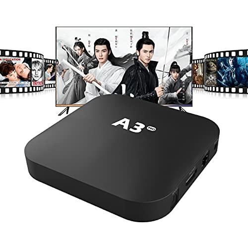 A.3Box Pro Chinese Iptv Box 2021全新中文Set-Top Box 华语电视盒子 China/Hongkong/Taiwan Channel Chinese/Cantonese/MinNan Movie&TV series免费观看