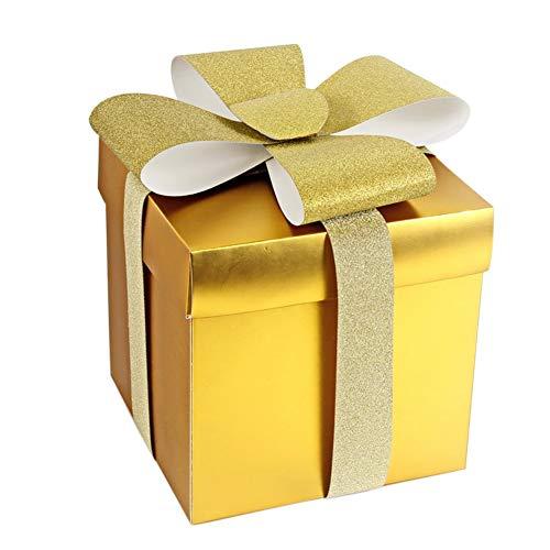 Feliz Navidad Paquete de 2 2m X 2.5cm De Lujo Cinta de Regalo Artesanía//Envoltura De Regalo