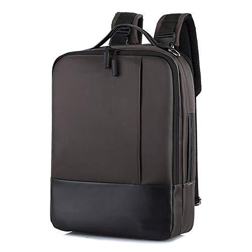 Angle-w diseño elegante, viajes sencillos, Mochila portátil, bolsa de ordenador portátil de negocios a prueba de agua mochila de viaje, con carga USB conector de puerto y auriculares, hombres de negoc
