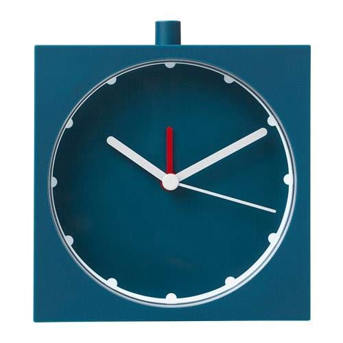 IKEA BAJK - Reloj despertador (10 x 10 cm, muy preciso, con...