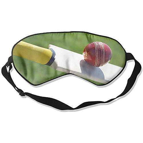 Slaap oogmasker Cricket spel zachte oogstrip verstelbare hoofdriem Eyeshade Travel Eyepatch