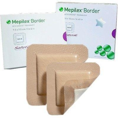 Mepilex Border 295360 Wundkompresse, 10 x 12,5 cm, 5 Stück