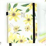 Libreta Bullet Journal Spring/Libreta Punteada - 19x25 cm- Encuadernación...
