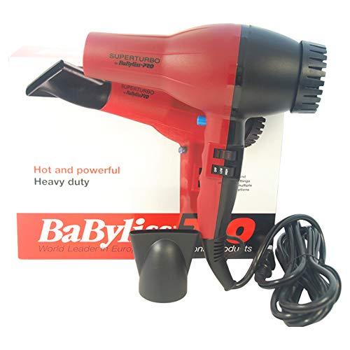Babyliss PRO Super Turbo Hair Dryer - #BAB307C - Red/Black