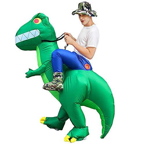 Partido del traje inflable del traje de Halloween verde dinosaurio inflable Fiesta de disfraces, Halloween y Navidad animal de la actividad de la ropa inflable espectculo dinosaurio ropa inflable pro