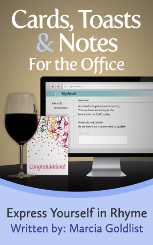 Cards, Toasts & Notes For the Office (Express Yourself in Rhyme Book 3) (English Edition)