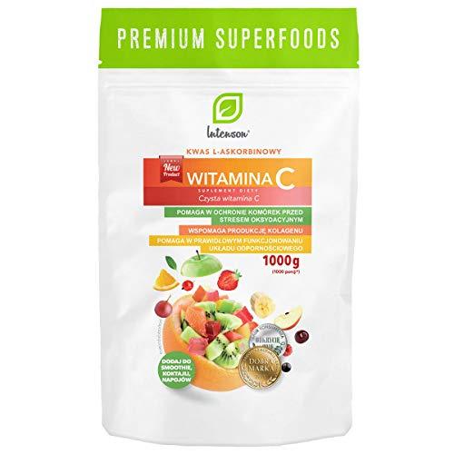 Ácido L-ascórbico vitamina C 1000mg 1000g Intenson
