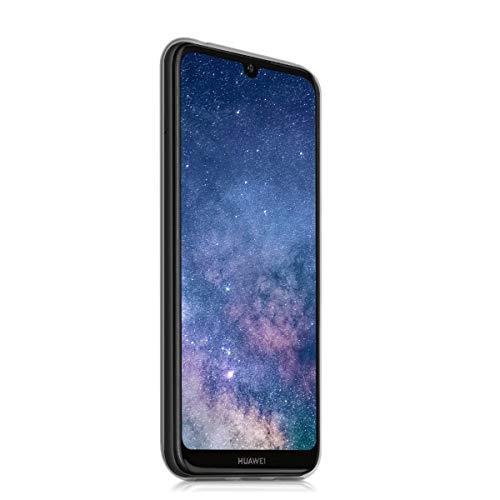 kwmobile Hülle kompatibel mit Huawei Y6 (2019) - Handyhülle - Handy Case Galaxie Sterne Rosa Pink Dunkelblau