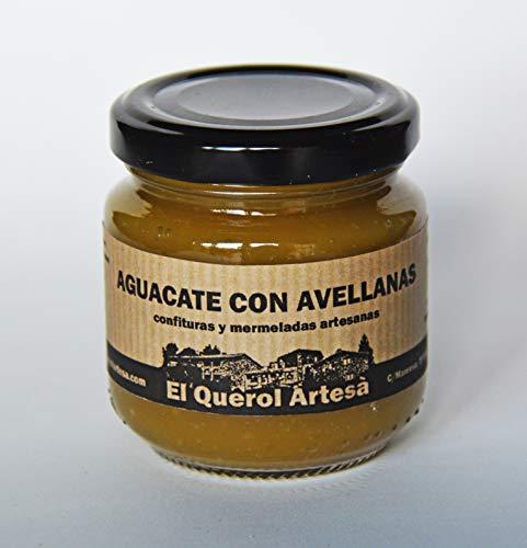 Mermelada Artesana de AGUACATE CON AVELLANAS. 170gr. Ingredientes 100% naturales. Envíos gratis a partir de 20€.