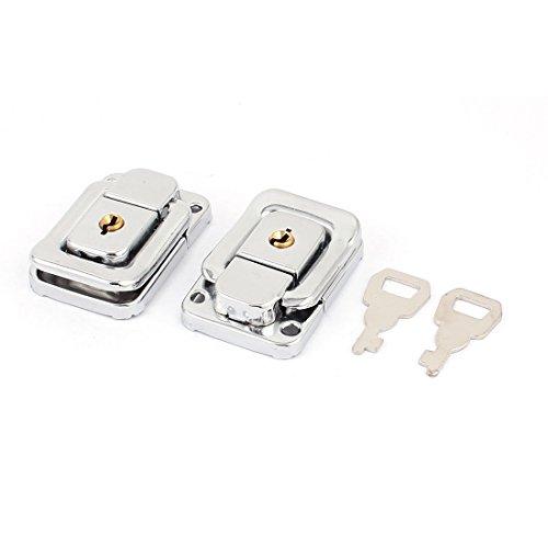 Aexit Koffer Box Truhenschloss Metall Toggle Verschluss Latch Verschluss Silberfarben 48mm x 32mm (68002a7d3b5d623339dfad0b9246f4cc)