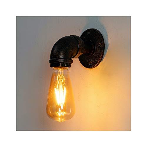 KOSILUM - Applique Design Industriel - Luigi - Lumière Blanc Chaud Eclairage Salon Chambre Cuisine Couloir - 1 x 40 W - - E27 -