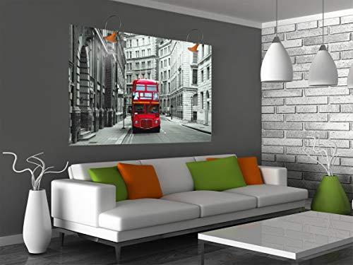 AG Design FTM 0814 Londen bus, papier fotobehang - 160x115 cm - 1 stuk, papier, multicolor, 0,1 x 160 x 115 cm