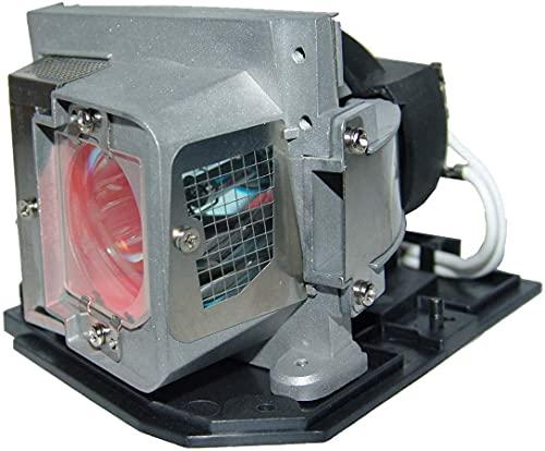 satukeji Bombilla para lámpara de proyector 725-10225 330-9847 para DELL S300 S300W S300Wi con Carcasa