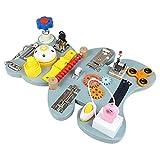 Spielzeug, Baby Spielzeug Montessori Lernspielzeug,Für Lernen Grundleben,Kinder Sensorische Aktivitätsbrett Kind Grundkenntnisse Lernbrett