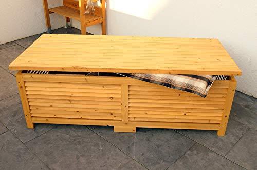 Directachat56 Coffre DE Rangement en épicéa Massif, 140 cm