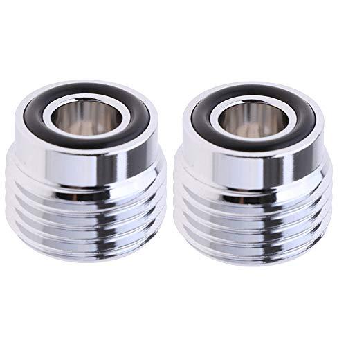 Sharplace Juego de 2 Piezas de Buceo DIN para Yugo Adaptador de Conversión Equipo de Válvula-Tanque