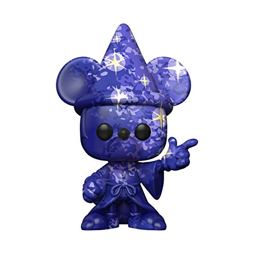 Funko-Pop Disney:Fantasia 80th-Mickey#1 (Artist Series) w/Case Fantasia Figura Coleccionable, Multicolor (51941)