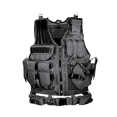 LLTT Army Tactical Equipment Military Vest Hunting Armor Vest Gear Combat Protective Vest Strong (Color : 2)