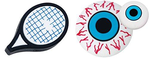 Gamma String Things Rqt/Eye Blue 2Pk, Unisex, Raqueta/Ojo Azul