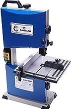 SISHUINIANHUA 9,5 Pulgadas Multi-Funcional Sierra de Cinta Verticales Sierras máquina pequeña Sierra de calar máquina de Bolas Banda de Metal Sierra