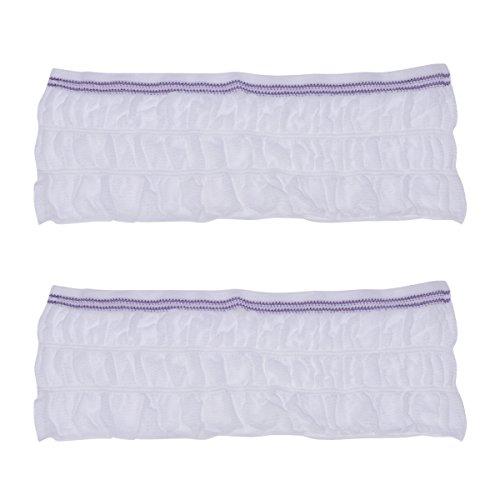 Healifty Netzhosen 2 STÜCKE Unisex Inkontinenz Mesh Hosen Mutterschaft Pads Slips Einweg Unterwäsche Größe L (Weiß)