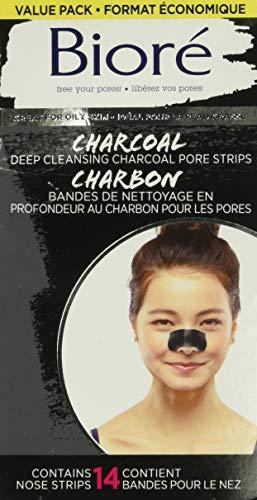 Bioré Deep cleansing Charcoal Pore Strip Value Pack 14-Count