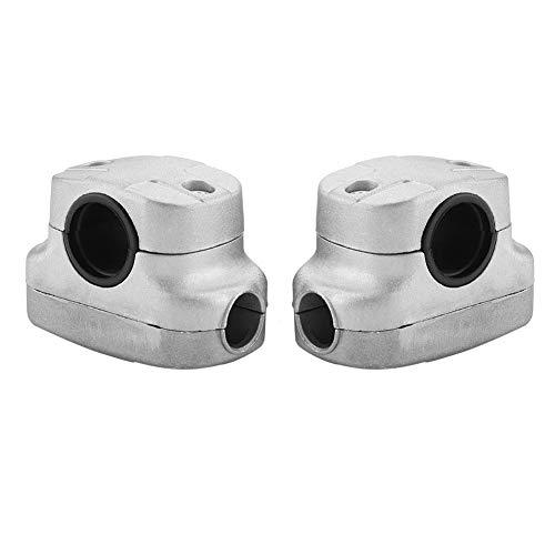 Duokon - Soporte para mango de aluminio, abrazadera fija para tubo de 26-28 mm de desbrozadoras y máquinas cortacésped