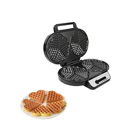 Multifunctionele elektrische wafelijzer 1200w wafelijzerpers Keukenoven Hoge kwaliteit Antiaanbakbord Gemakkelijk schoon te maken Hoogwaardig roestvrij staal Voor elk ontbijt Lunch